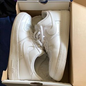 AirForce 1 '07 all white size 13